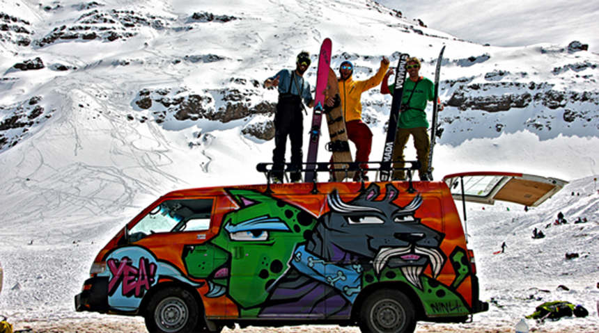 campervan hire South America