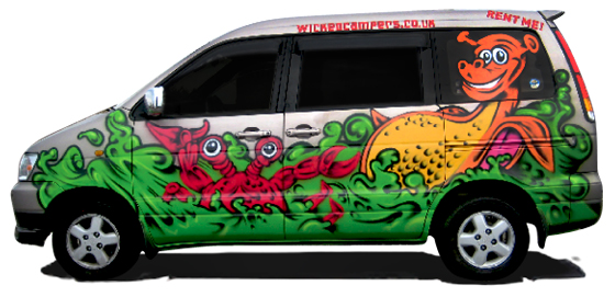 Wicked 2-Seater Campervan